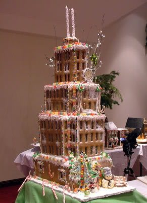 How to Make a Gingerbread House Skyscrapper