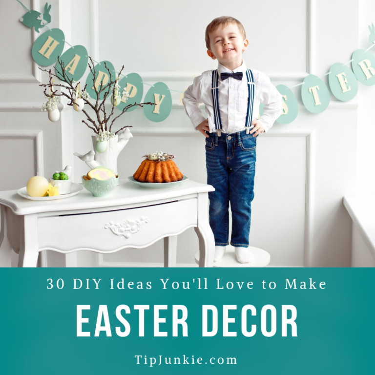 22 Easter Decorations You'll Love to Make on Tip Junkie