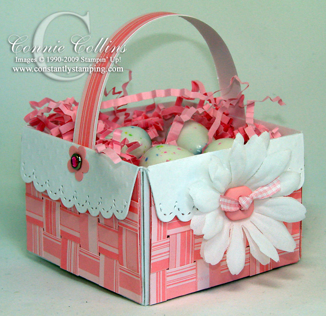 Mini Paper Easter Woven Basket