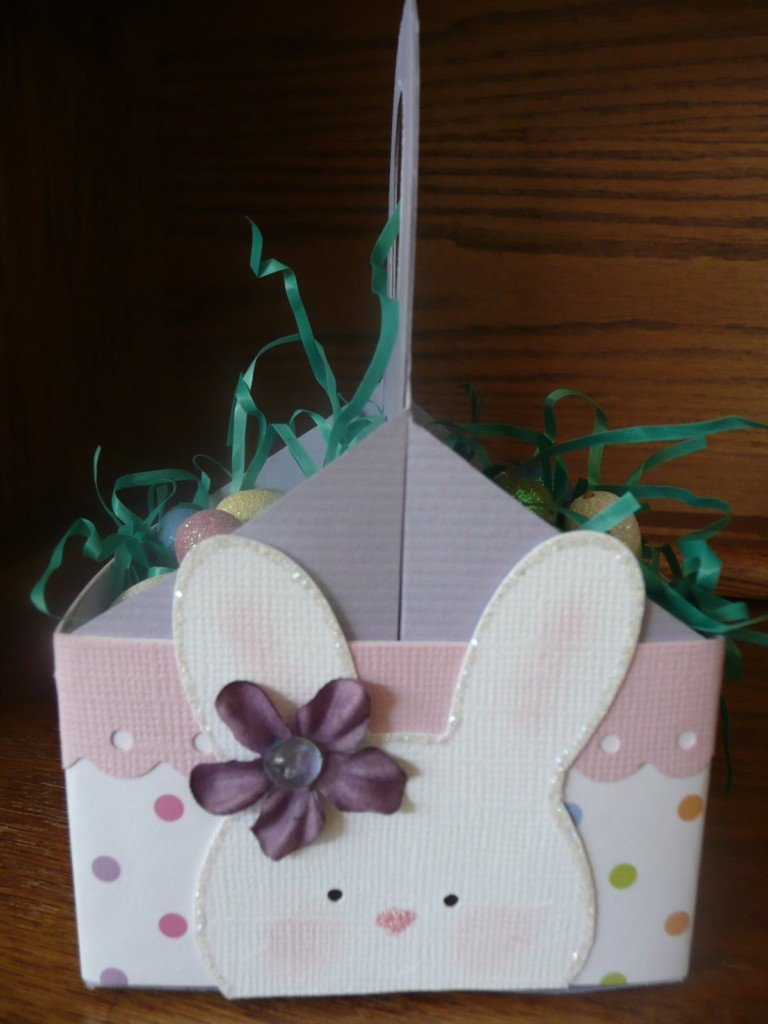 Paper Easter Basket Template