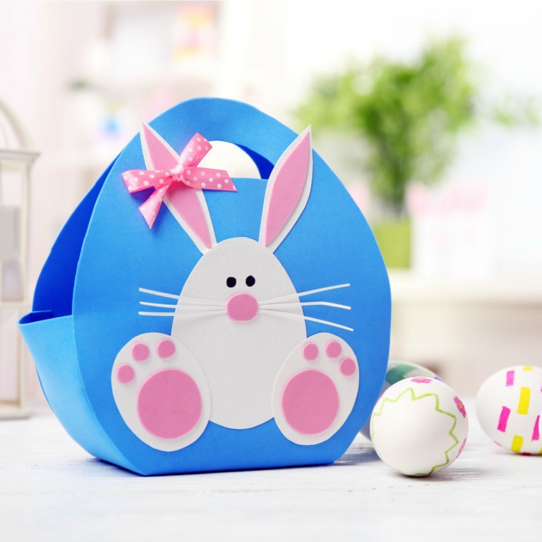 paper easter basket ideas and printables