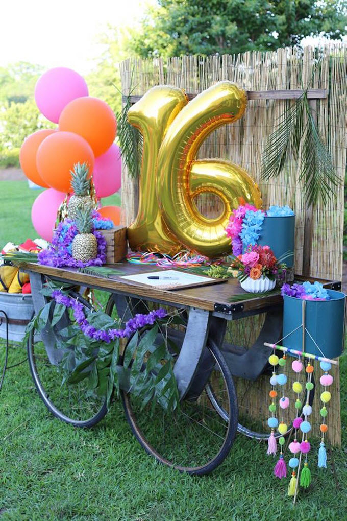 Fun Sweet 16 Birthday Party Ideas and Themes – Tip Junkie