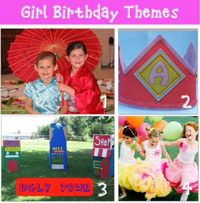 Girl Birthday Party Themes Tip Junkie