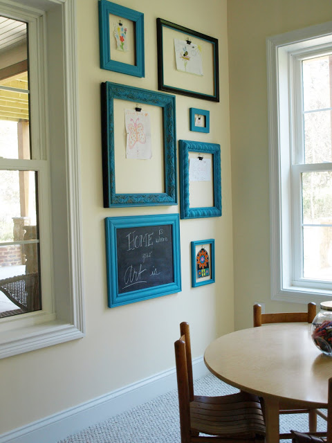 How to Display Children's Artwork