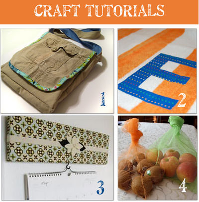 16 craft project ideas tutorials tip junkie for New handmade craft ideas