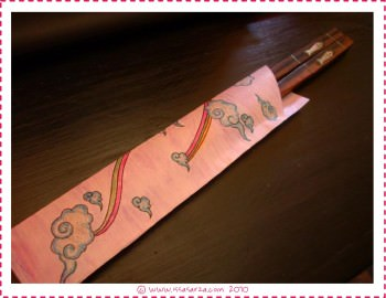 chopstick cover color it yourself