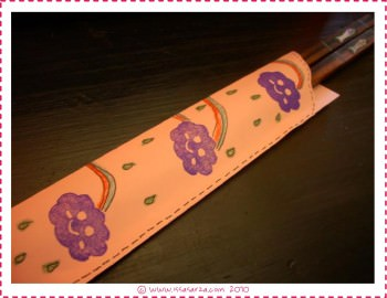 chopstick cover design it yourself