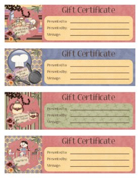 personalized mother s day gift certificates tip junkie
