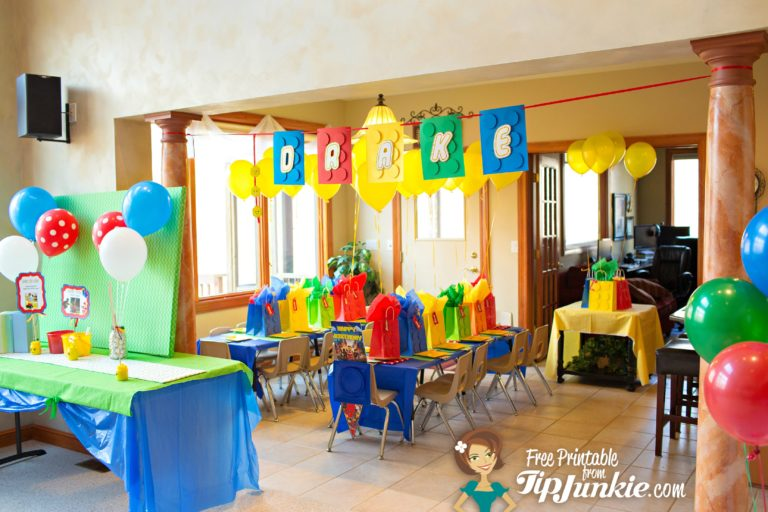 Lego Party Games and Birthday Ideas by TipJunkie