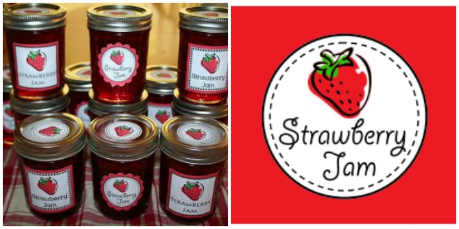Strawberry Jam Printable