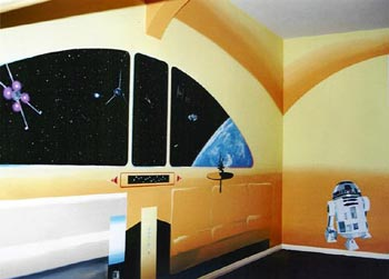 star wars bedroom wall decorations