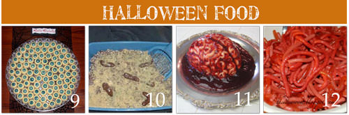 Creepy Halloween Recipes with Pictures