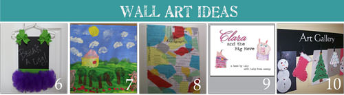 Create Wall Art for Kids