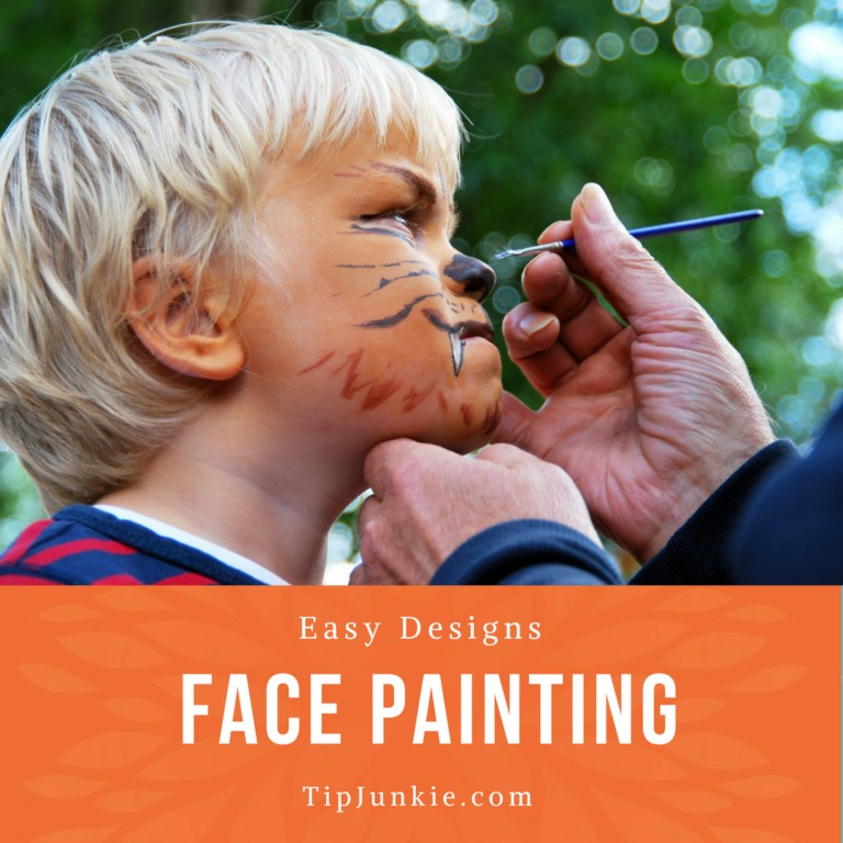 Easy Face Painting Designs on Tip Junkie