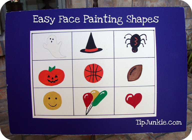 Easy Face Painting Designs Tip Junkie