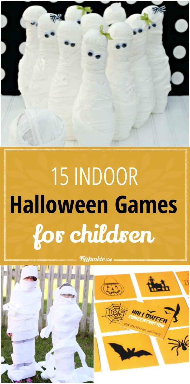 Indoor Halloween Games for Kids