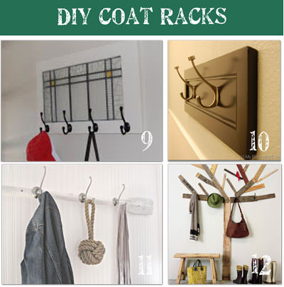 40 DIY Coat Rack Ideas Tip Junkie Magnificent Diy Coat Rack Ideas
