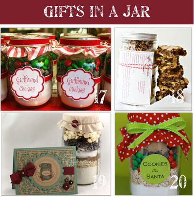 Recipes for Cookies in a Jar