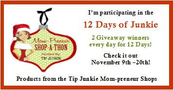 12 Days of Junkie Giveaways