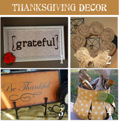 Thanksgiving Decorating