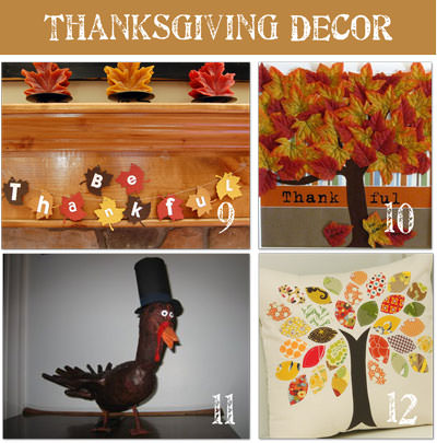 Thanksgiving Pictures Of DIY Decorating