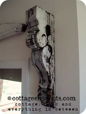 Corbels to Curtain Rods {curtain rod installation}