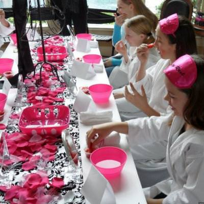 Sophisticated Tween Birthday with Spa