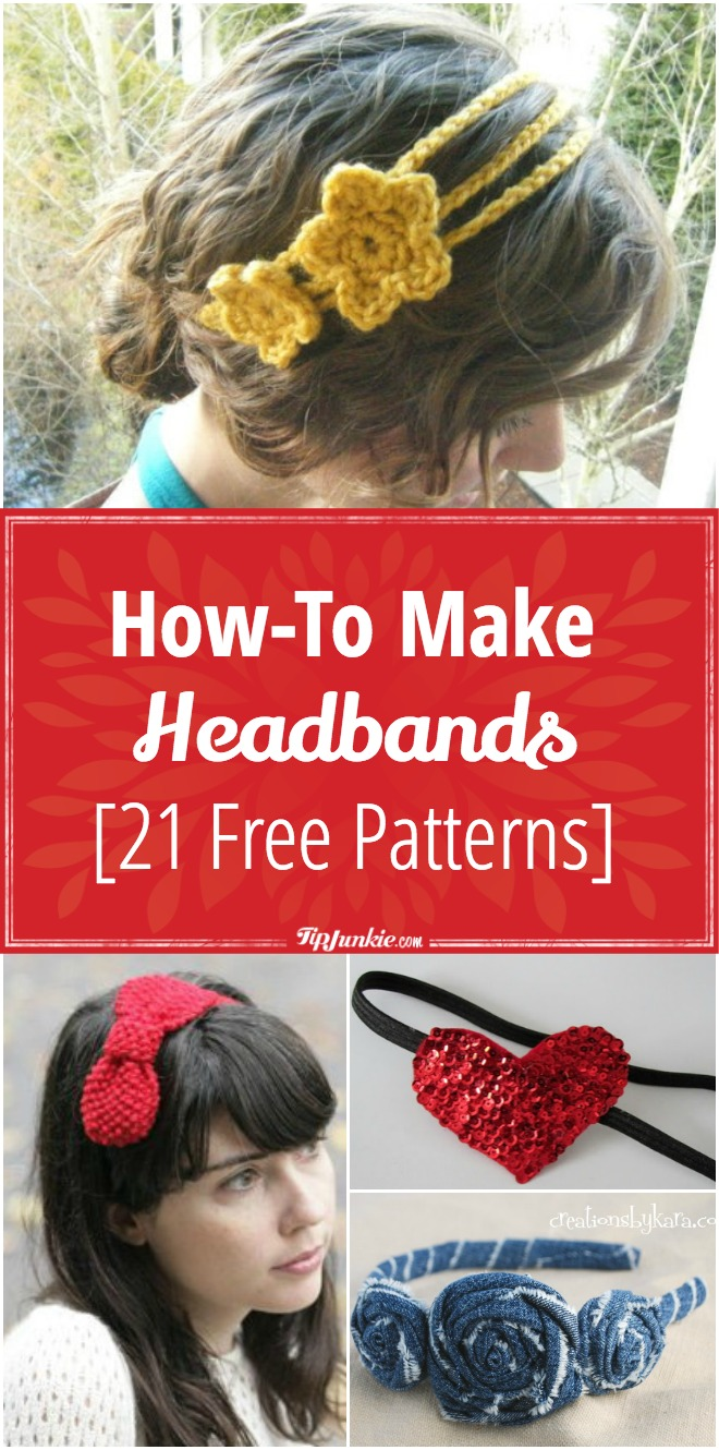 How-To Make Headbands [21 Free Patterns]