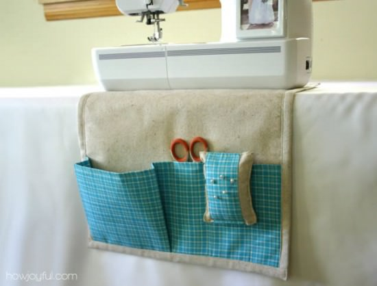 Sewing Caddy and detachable Pincushion Tutorial