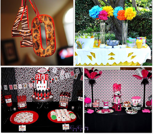 40th Birthday Ideas : birthday decorations ideas for adults - www.pureclipart.com