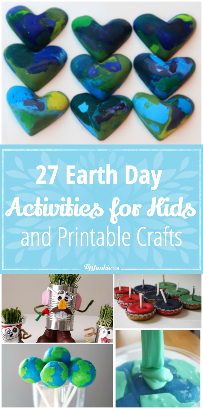 27 Earth Day Activities for Kids and Printable Crafts