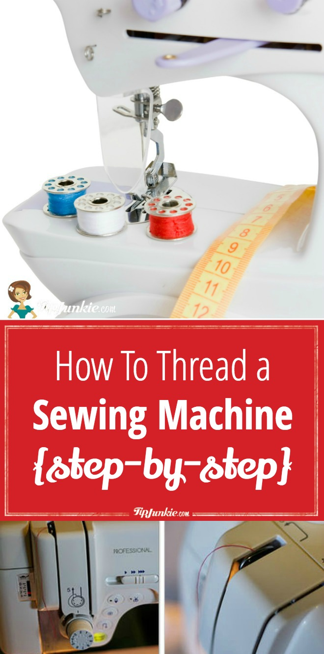 How To Thread A Sewing Machine [step-by-step]
