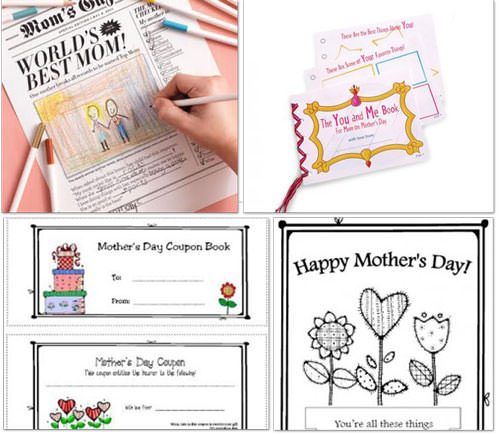 Free Printable's for Mother's Day