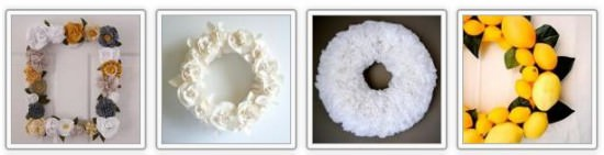Decorate Walls with a Wreath