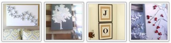 Decorate Walls with DIY Artwork