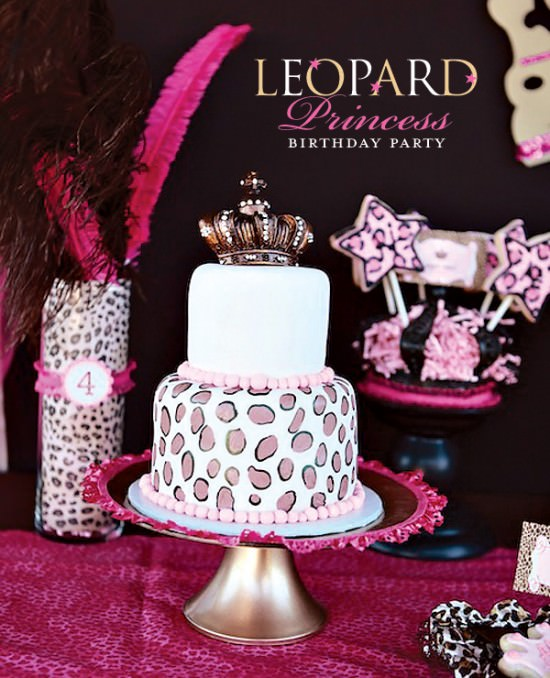 Leopard Princess 4th Birthday Party