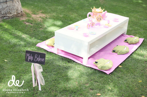 princess tea time table