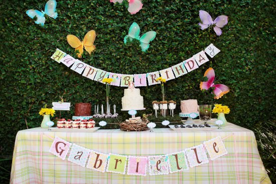 Cupcakes and Fairies Birthday Party