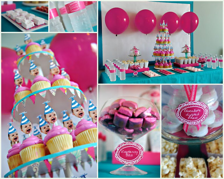 first birthday cake party ideas