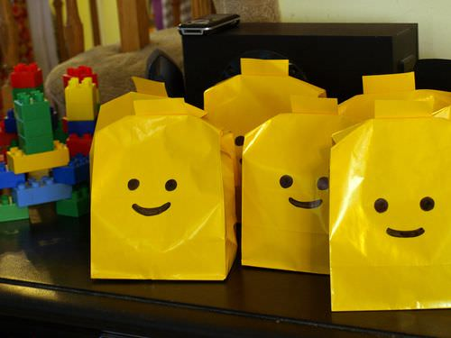 Home Made Lego Party