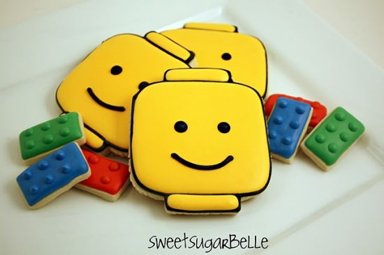 Lego Man Cookie Recipe and Tutorial