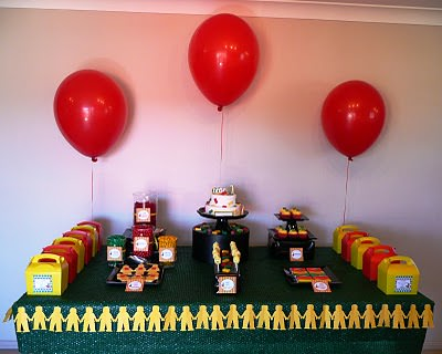 Lego Party Dessert Table -