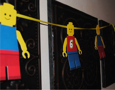 Free Printable Lego Guy Banner