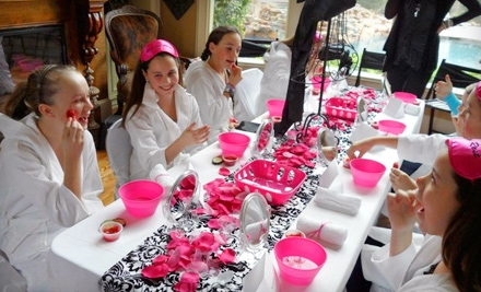 Sophisticated Tween Party With Spa