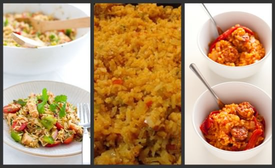 How to cook rice 10 savory rice recipes tip junkie spanish style rice dishes ccuart Choice Image