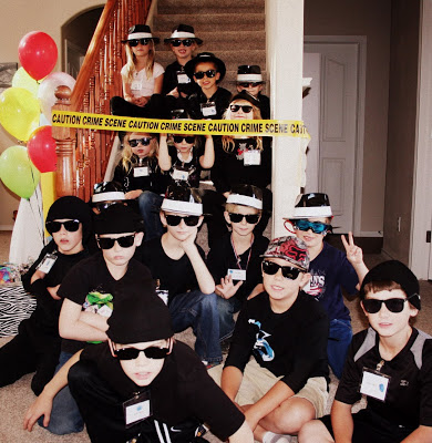 secret agent spy party