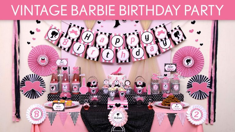 vintage barbie birthday