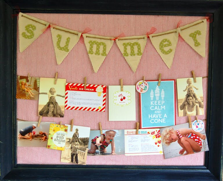 15 pretty displays for christmas pictures cards tip junkie for Pretty bulletin board