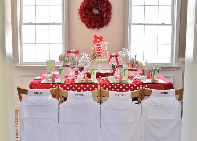 candy coated christmas party - Youth Christmas Party Decorations
