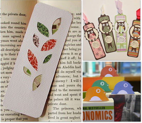 Homemade Bookmark Tutorials